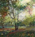 "Tree, St. James's Park - 28"" x 26"""